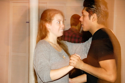Norwalk Community College does Salsa with Erik Novoa