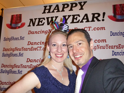 Dancing New Year's Eve CT 2013 - Erik and Anna Novoa