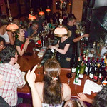 Gossip Bar after the West Coast Swing and Hustle Showcase