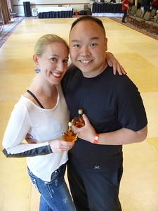 Anna Novoa and Keith Chow 3rd Place Vermont Swing Dance Championships 2013
