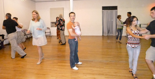 Charlotte's first West Coast Swing class