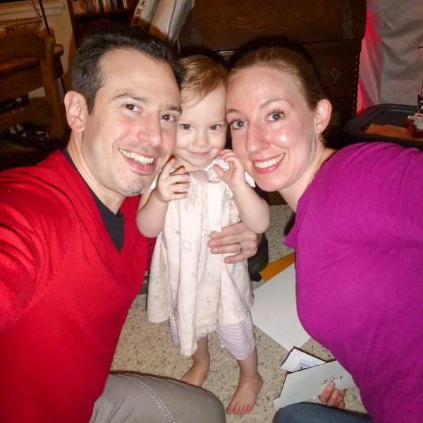 Erik, Anna, and Charlotte in December 2015